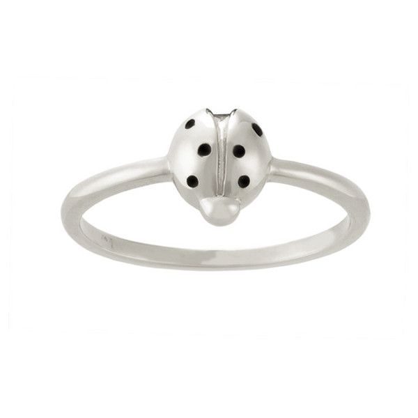Karen Walker Ladybird Ring (100 AUD) ❤ liked on Polyvore featuring jewelry, rings and karen walker