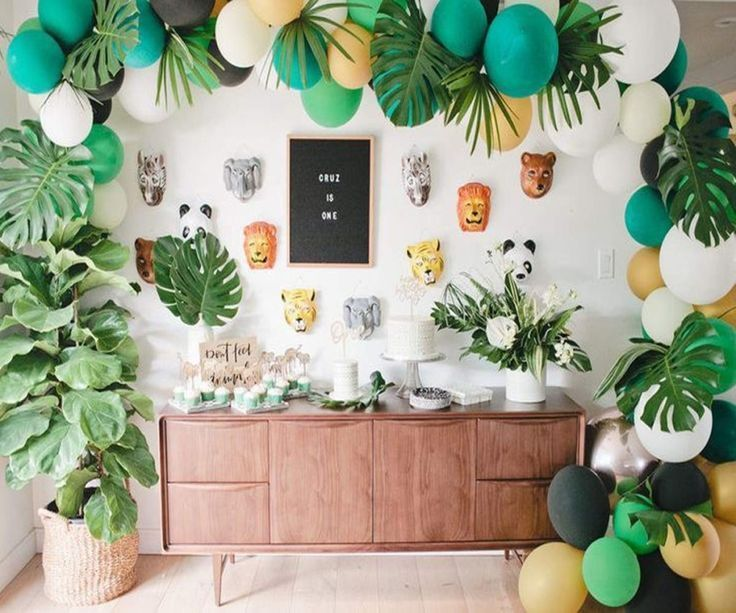 Jungle Baby Shower Theme Decorations Gender Neutral Jungle Baby Shower Theme Decorations Baby Shower Theme Decorations Jungle Baby Shower Decorations