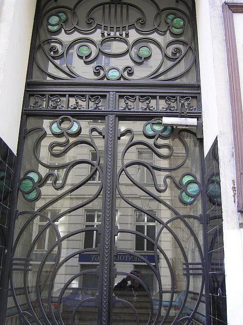Art Nouveau Door Vienna