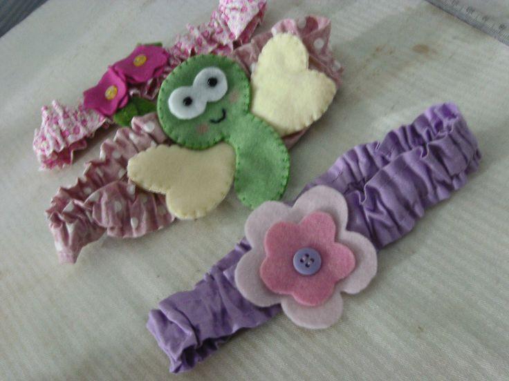 video aula faixa (tiara ) para bebes
