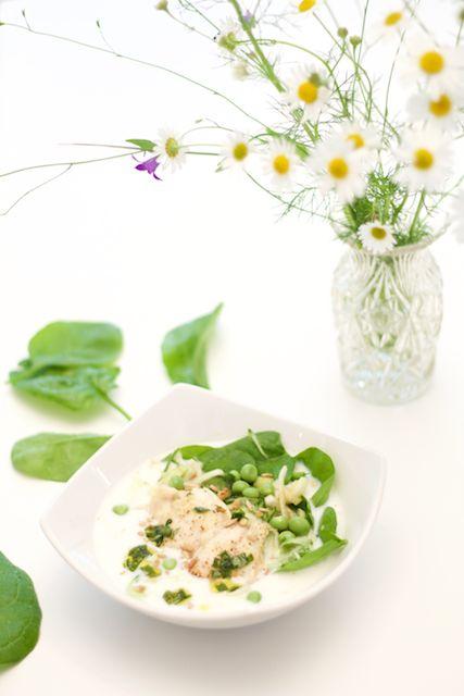 Hämmentäjä: Perch and sour milk bowl. The perfect cold fish soup. Ahven-piimäkulhot, eli täydellinen kylmä ahvenkeitto.