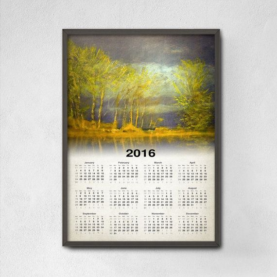 91 best 2016 Calendars images on Pinterest | Calendar 2018, Flat ...