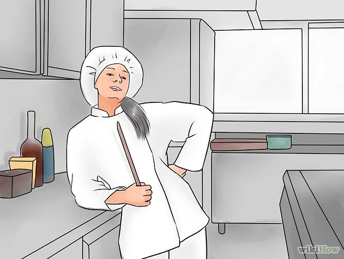 """How to Become a Chef"" This infographic/webpage has some smart tips about becoming a chef."