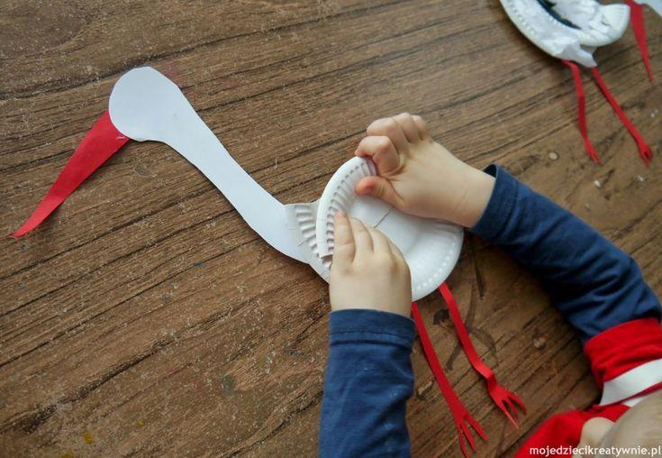 bocian do zrobienia przez dzieci - Szukaj w Google