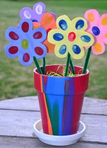 mother's day crafts for toddlers | 25 Homemade Mother's Day crafts for kids