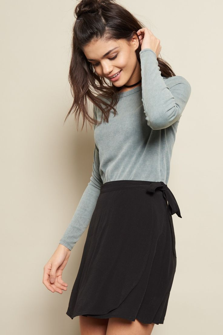 That's a wrap - Flirty Wrap Skirt