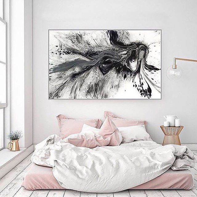 Looking up inspiration for my new loft. Ugh I love this!!! I believe I first saw this picture through @annlestyle | original credit unknown. It's so beautiful! But idk about having my bed on the floor because Money & Miso would probably pee on it. LOL