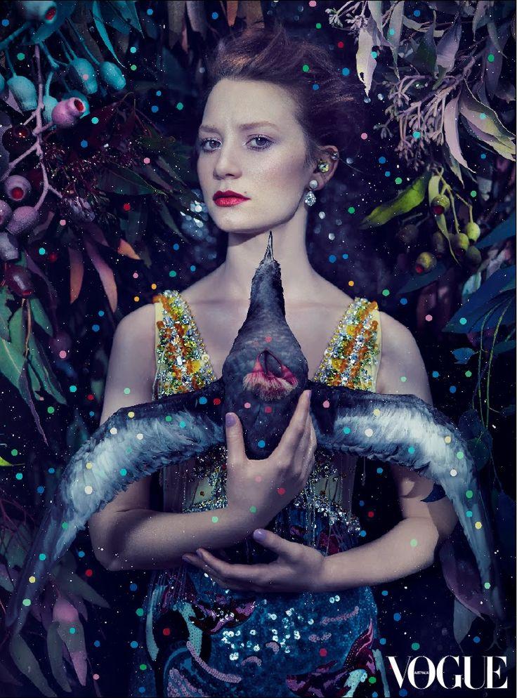 Del Kathryn Barton x Australian Vogue
