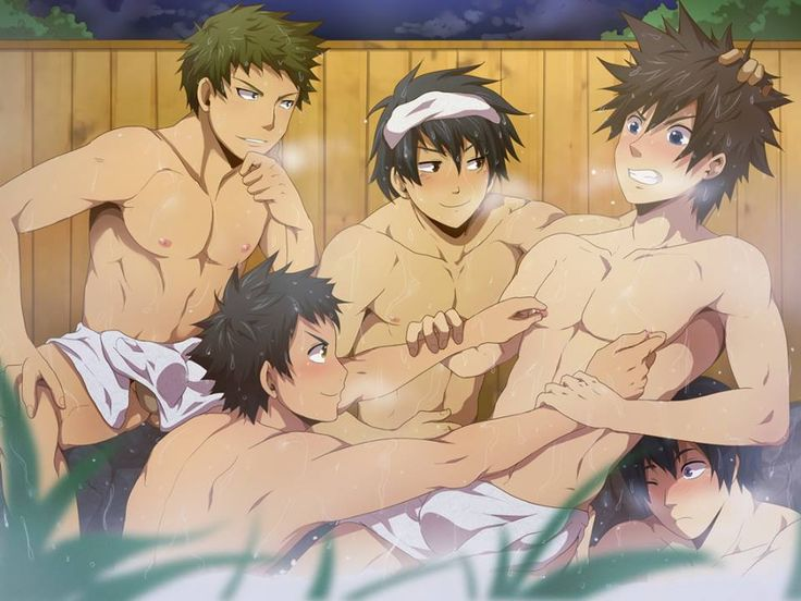 Hot Naked Anime Boys
