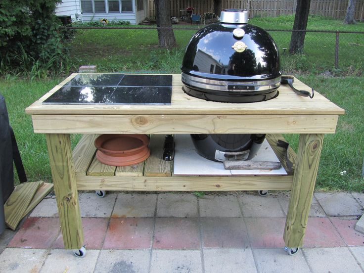 Build A Table For My Grill | ... Uploading The Photo. Totally Incomplete
