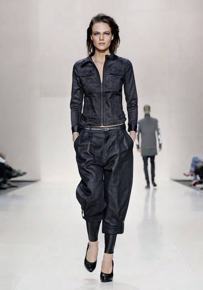 ♥ #blue ☮ #jeans ☮ denim G-Star RAW - Fall/Winter 2014 Women's Lookbook | Denimology