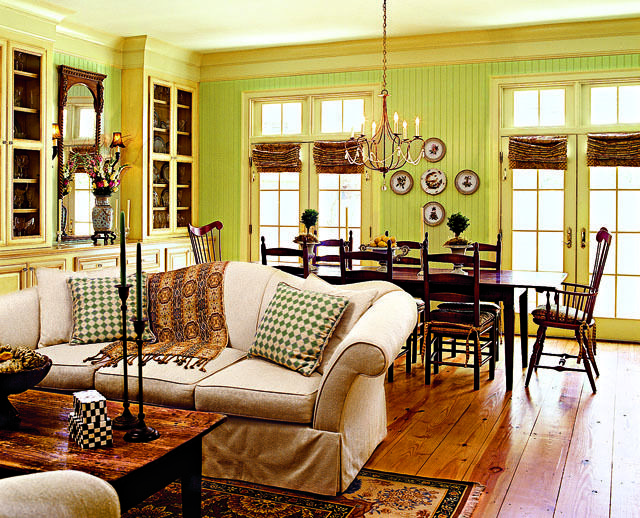 View of Cotton Hills Cottage Family Room