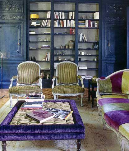 Purple And Chartreuse Velvet Decorating Ideas