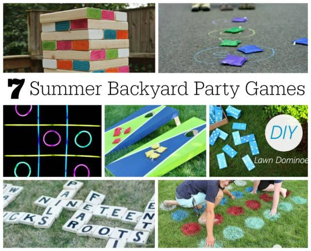 7 Fabulously Fun Backyard Party Games for Summer