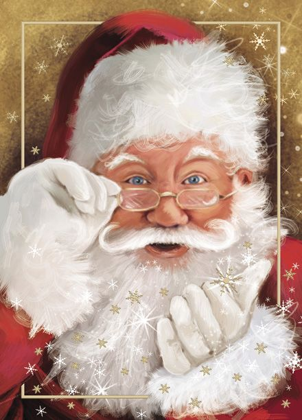 Santa Personalized Christmas Cards http://partyblock.holidaycardwebsite.com/holiday/Personal-Holiday-Cards/M1386