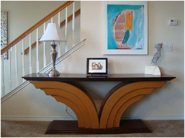 Art Deco Wing Table By Kenneth Peterson  side tables and accent tables