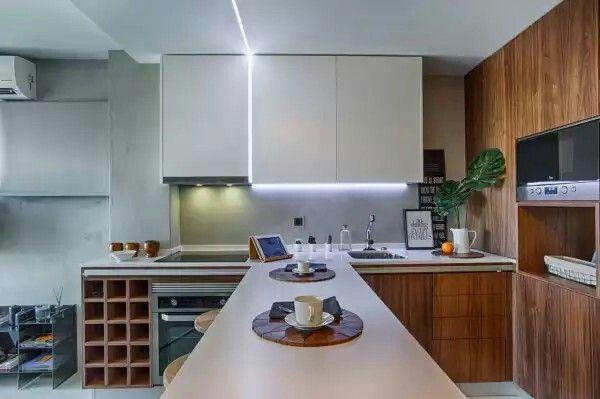 Light scheme for kitchen