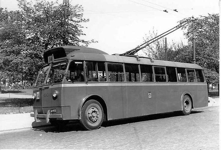 HKL 606, Tehtaankatu. Kuva / Photo © Jan Walter 9.6.1951
