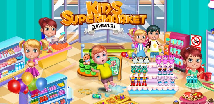 #KidsGame In #Supermarket #game, start different activities like help #customers to find what they want, make a #cake, scan #packing items & much more.