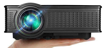 1. Portable Mini HD Projector 1080p, 1500 Lumens LED Video Projector