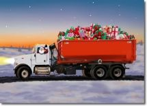 SW-00949 Industry Specific Christmas Card for the roll off and trash company industry.Truck Transportation , Refuse Trash Garbage, Recycling, Waste Management, Trash Service, Trash Pickup, Trash Pick up, Garbage Pickup, Garbage Pick up, Demolition Christmas Card, Demolition Holiday Card, Demolition Contactor Christmas Card, Demolition Contactor Holiday Card, Roll off Christmas Card, Roll off Holiday Card, Rolloff Christmas Card, Rolloff Holiday Card, Roll off Truck Christmas Card, Roll off…