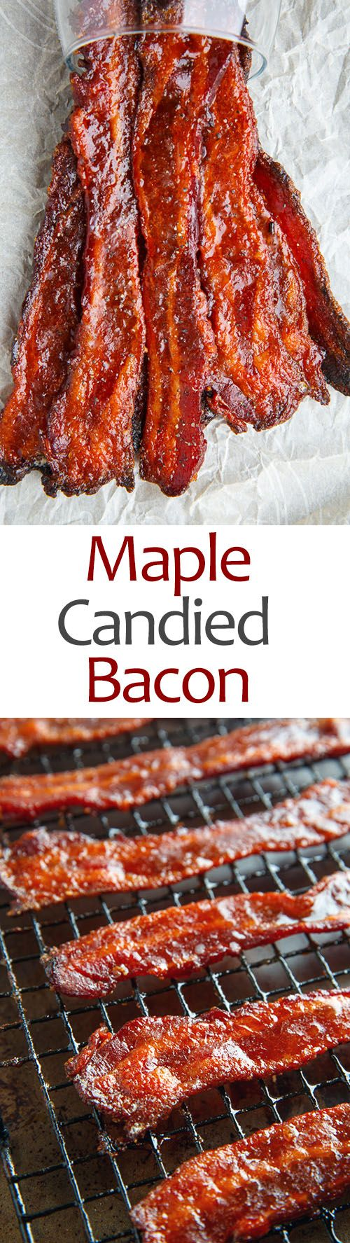 Maple Candied Bacon                                                                                                                                                                                 More