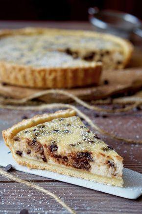 CROSTATA FACILE RICOTTA E CIOCCOLATO Volete realizzare una Crostata Facile con Ricotta e Cioccolato in semplicità!? Questa ricetta fa proprio al caso vostr