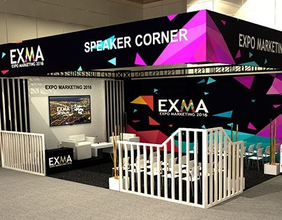 """Check out new work on my @Behance portfolio: """"Stand - EXMA - SC"""" http://be.net/gallery/48582735/Stand-EXMA-SC"""