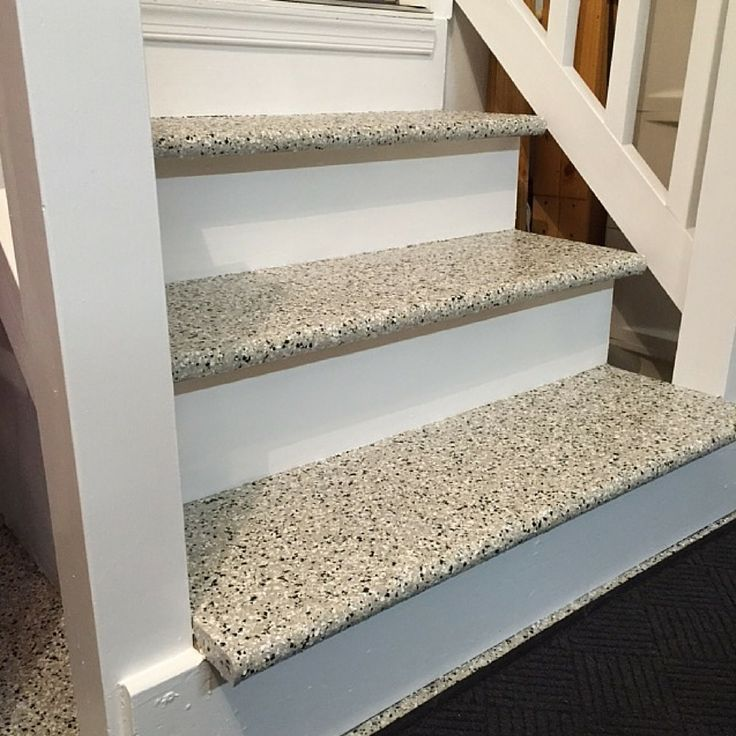 Epoxy On Stairs Why Yes We Do Love That Epoxy And