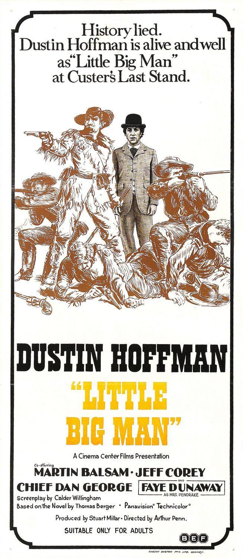 LITTLE BIG MAN (1970) - Dustin Hoffman - Martin Balsam - Jeff Corey as 'Wild…