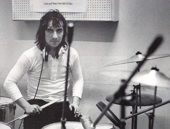 Keith Moon ... what an amazing, frenetic and powerful voice on drums. Gone too soon. But at least we've still got the Muppets' Animal.