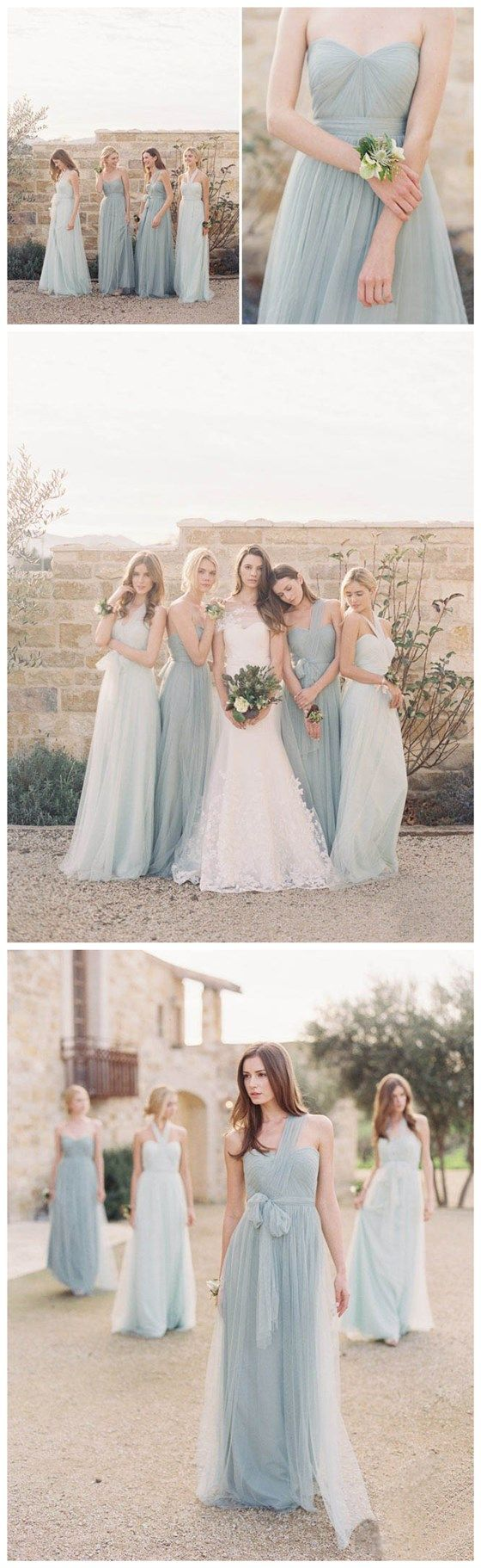Tulle Bridesmaid Dresses,Affordable