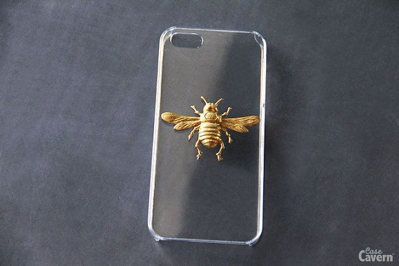 Bee iPhone 6 6s Case iPhone 5c Insect iPhone 4 Cover by CaseCavern
