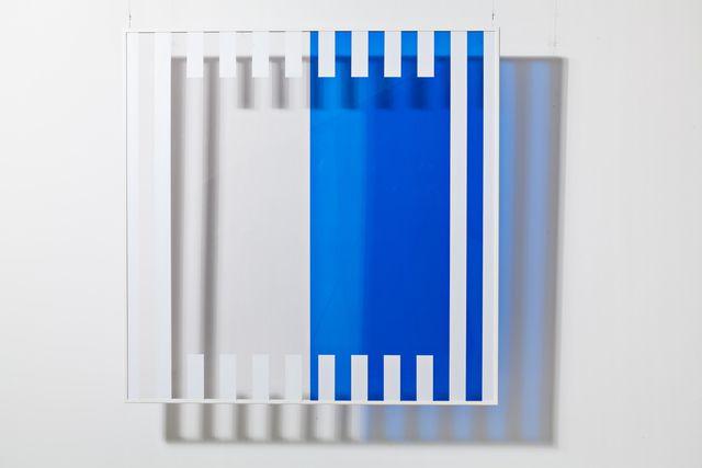 Daniel Buren / 'Couleurs et Ombres portées N°8,' 2006, Galleria Continua
