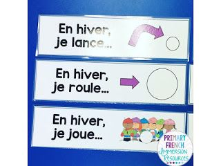 French Immersion resources and activities to use in your primary French classroom! Winter activities and games.