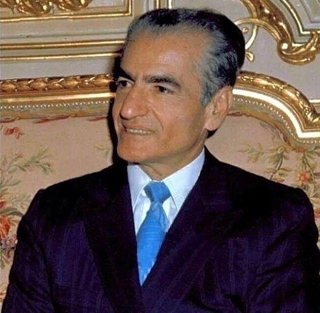 The late king of Iran - Mohammad Reza Shah Pahlavi