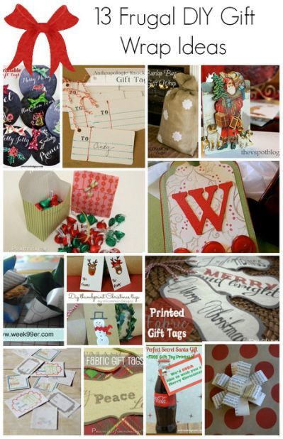 13 DIY Gift Wrap Ideas   Make your