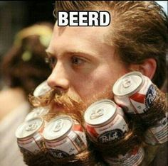 make your beard a beerd this halloween with this party trick