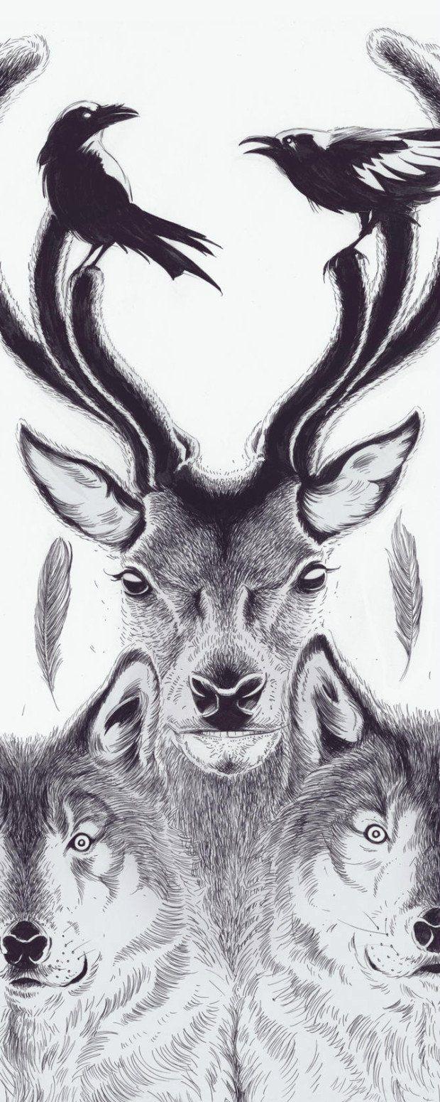 Hungry Wolves  - ❣ Relicário ❣ - makemyworldburn.tumblr.com