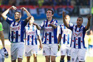 sport: Dutch Eredivisie - sc Heerenveen v SC Cambuur Leeuwarden