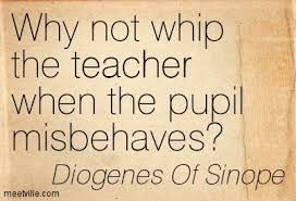 Diogenes of Sinope on education...
