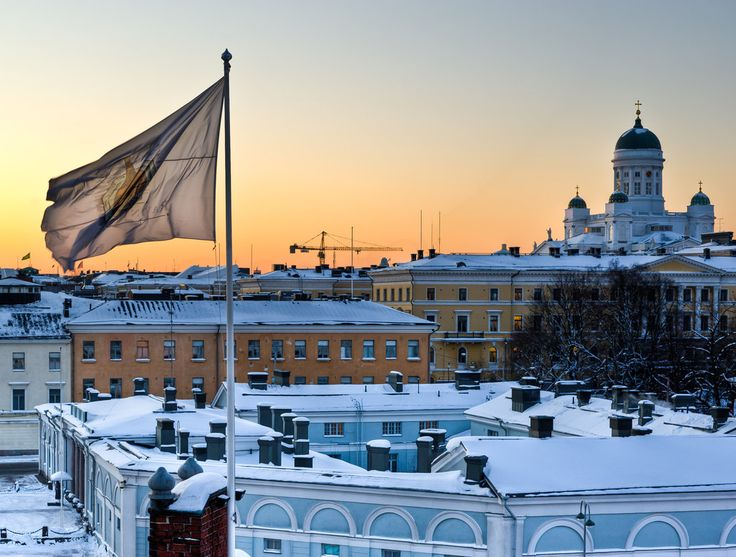 A view over the roofs by valkeeja, Helsinki, Suomi
