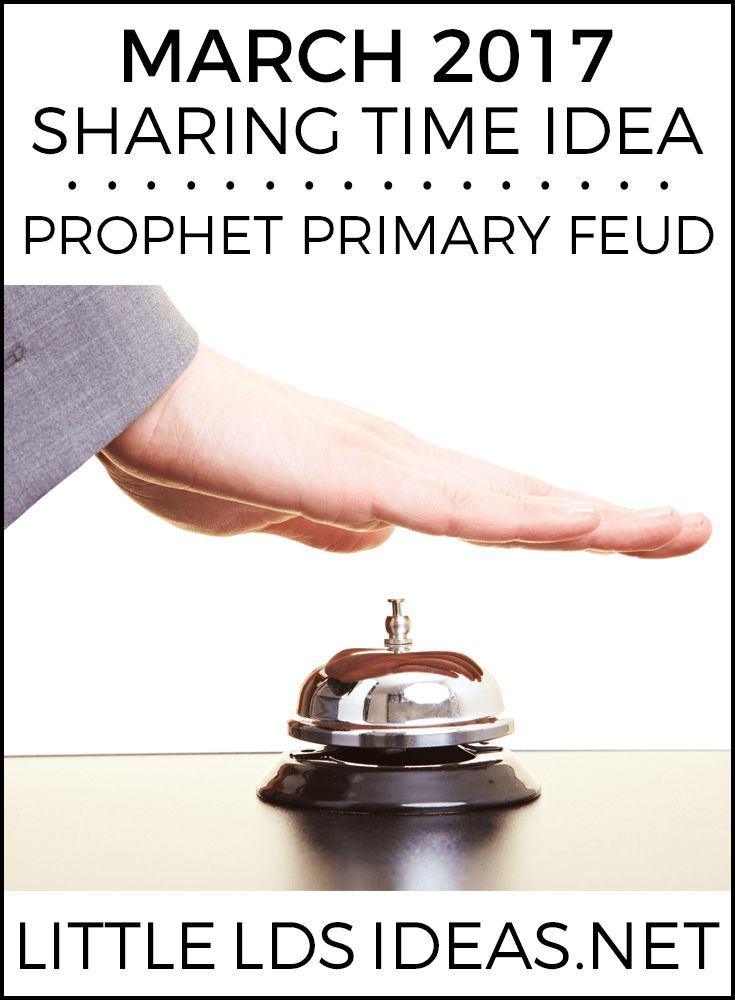 348 best LDS Primary: Sharing Time Ideas images on Pinterest