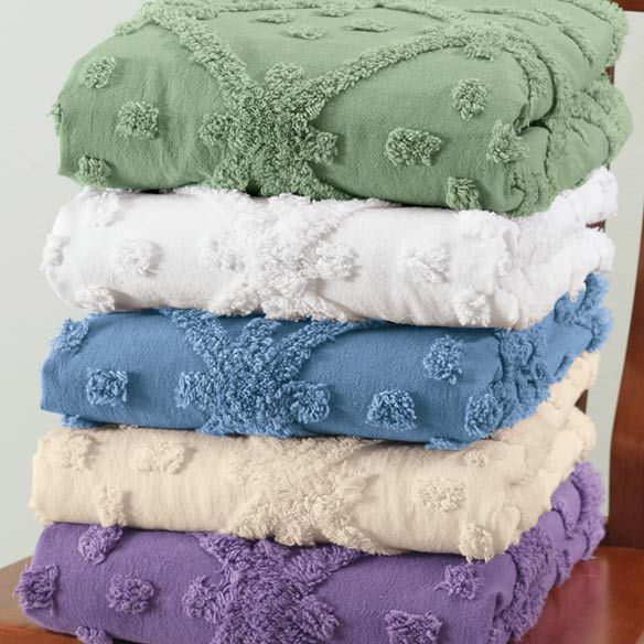 image detail for anna chenille bedspread and sham bedding and linens bedroom - Chenille Bedspreads