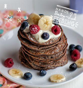 Quinoa and Banana Flourless  Pancakes