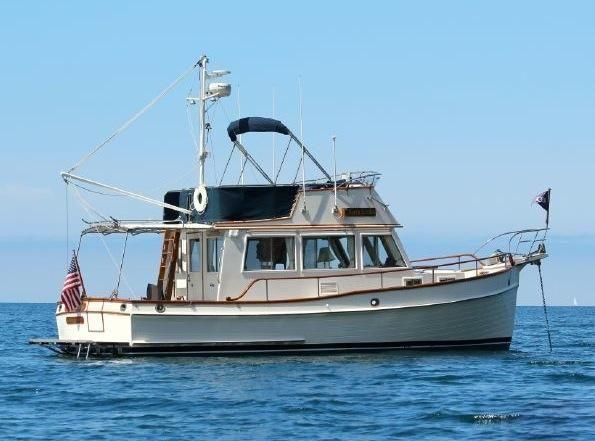 1989 Grand Banks 32 Sedan Power Boat For Sale - www.yachtworld.com