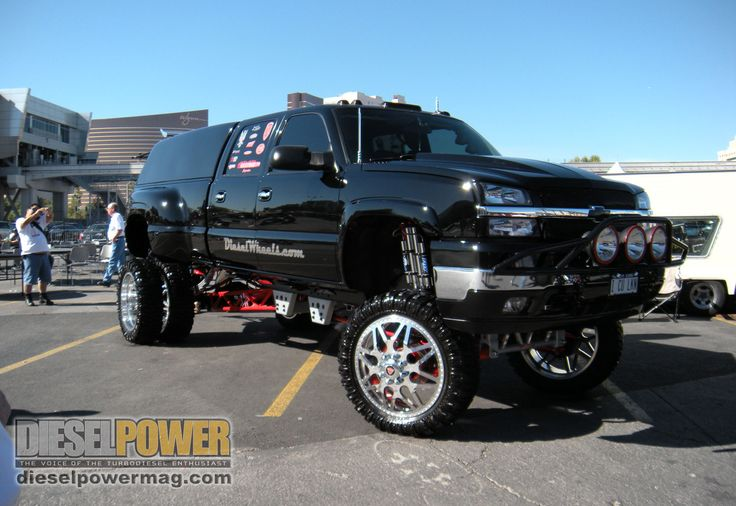 big lifted chevy trucks - photo #29
