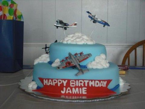 Airplane Birthday Cake 1
