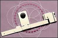 Janome - Accessories: Circular Sewing Attachment (QC series, MC6600P, MC6500P, MC11000)