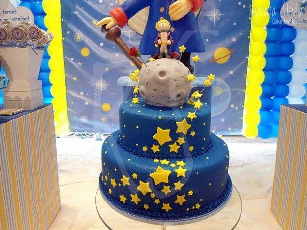 Le Petit Prince! kids party cake decor